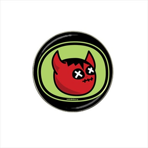 Devil Cartoon Golf Ball Marker   Cute!