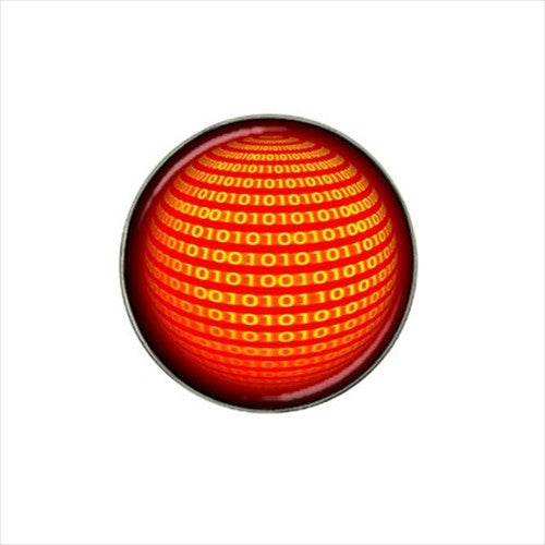 Binary Computer Geek Golf Ball Marker