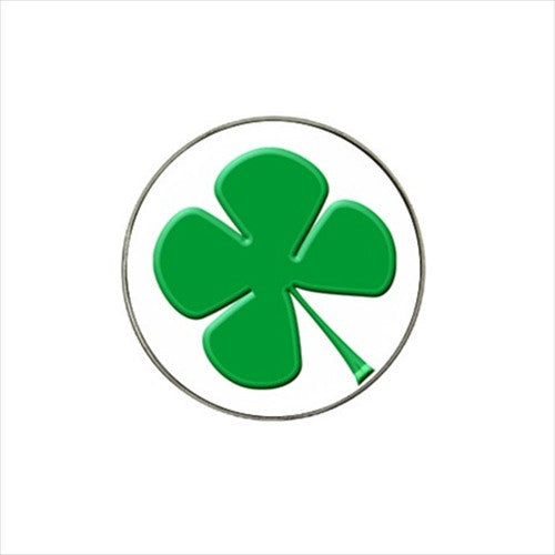 Lucky Four Leaf Clover Shamrock Golf Ball Marker