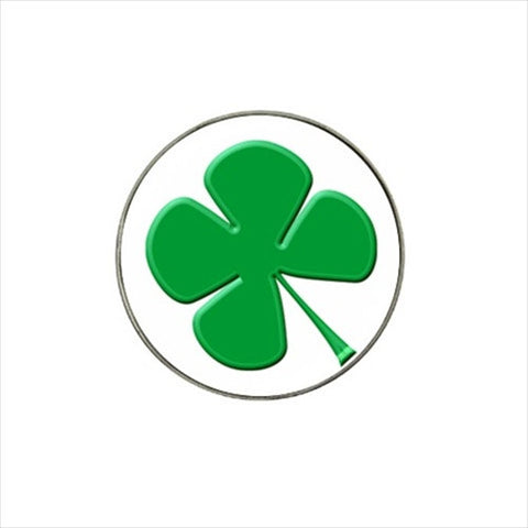 Lucky Four Leaf Clover Golf Ball Marker