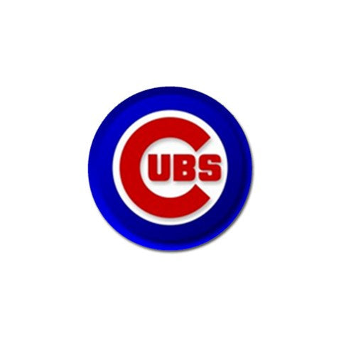 Chicago Cubs Golf Ball Marker - S1