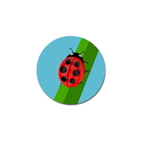 Lady Bug Golf Ball Marker S3