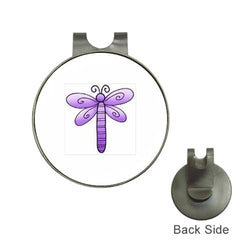 Purple Dragonfly Golf Ball Marker