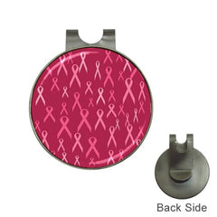 Breast Cancer Awareness Pink Ribbon Golf Ball Marker