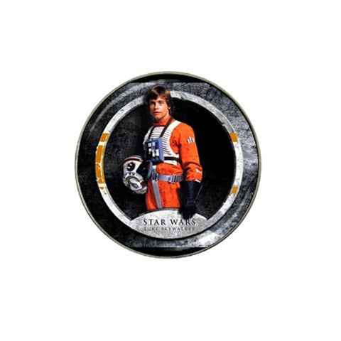 Star Wars Luke Skywalker Golf Ball Marker