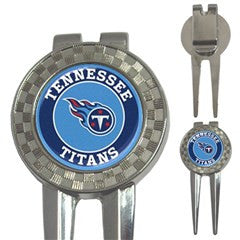 Tennessee Titans 2 Golf Ball Marker