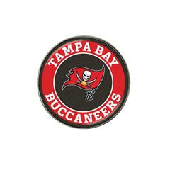Tampa Bay Buccaneers 2 Golf Ball Marker