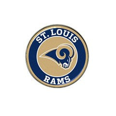St Louis Rams 2 Golf Ball Marker