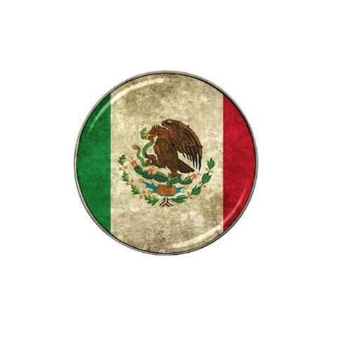 Mexian Flag Golf Ball Marker