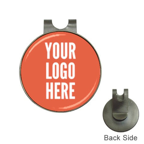 Custom Hat Clip + Golf Ball Marker with Your Logo