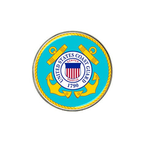 Coast Guard Golf Ball Marker