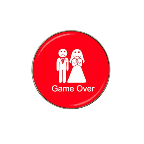 Bachelor Game Over Golf Ball Marker S2