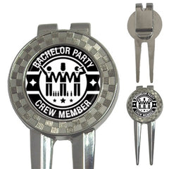 Bachelor Party Golf Ball Marker S1