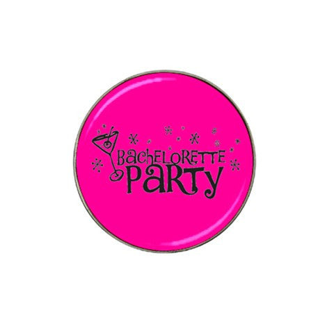 Bachelorette Party Golf Ball Marker S2