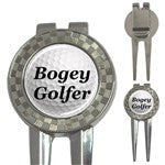 Bogey Golfer Golf Ball Marker