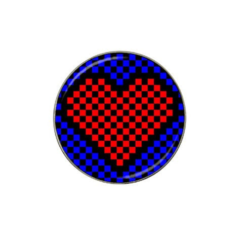8 Bit Love Golf Ball Marker