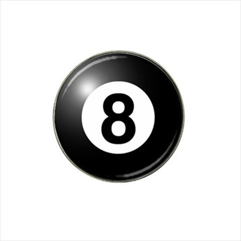 8 Ball Golf Ball Marker