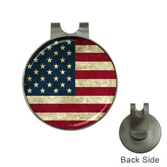 American Flag Golf Ball Marker