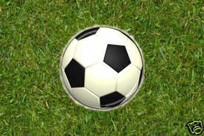 Soccer Ball   Golf Ball Marker - Football