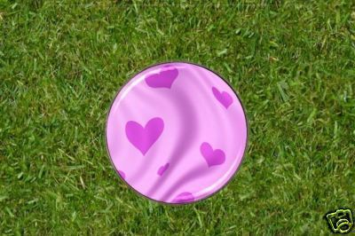 Pink Hearts Golf Ball Marker