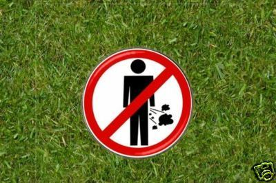 No Farting (on the course)  Golf Ball Marker