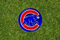 Chicago Cubs Golf Ball Marker  - Northsiders Rule! S2