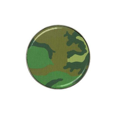 Camouflage Golf Ball Marker