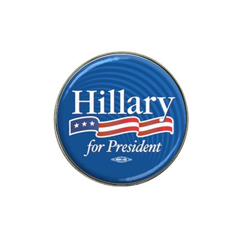 Hillary Clinton Golf Ball Marker