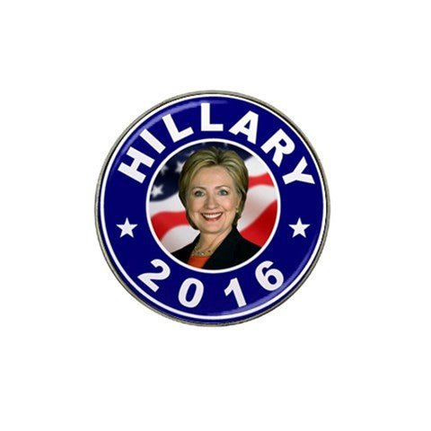 Hillary Clinton Photo Golf Ball Marker