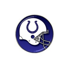Indianapolis Colts Helmet Golf Ball Marker