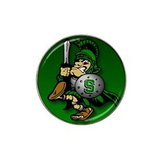 Michigan State Spartans 2 Golf Ball Marker