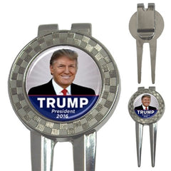 Donald Trump Photo Golf Ball Marker