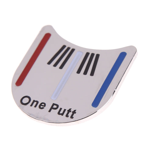 Outdoor Alloy Golf Alignment Aiming Tool Ball Marker Magnetic Hat Clip Golf Accessories
