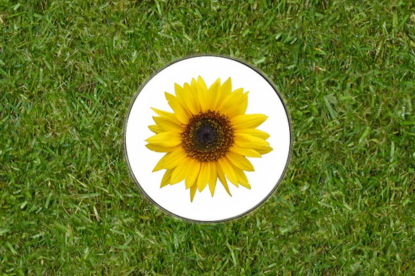 Sunflower Golf Ball Marker