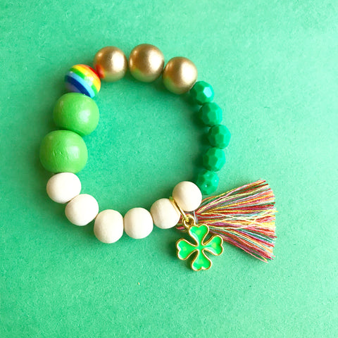 Luck O' the Irish Bracelet (kids and adults)