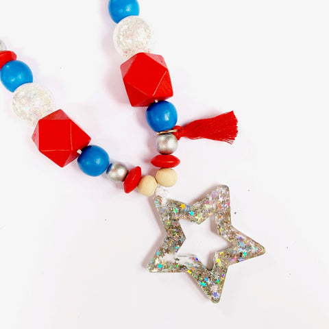 Firework Star Necklace