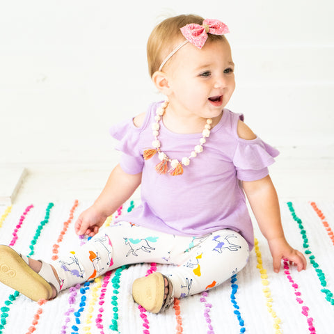 Tassel Necklace Rainbow