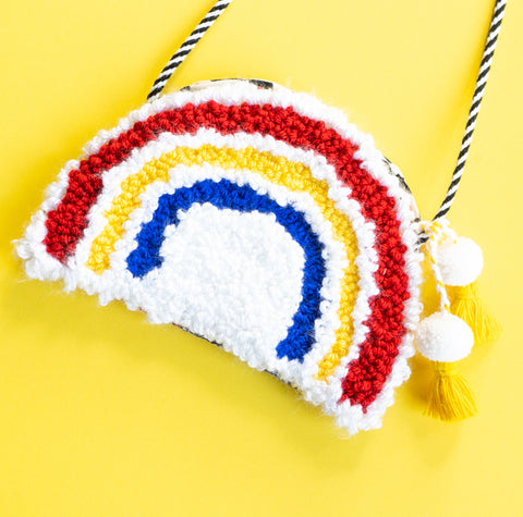 Rainbow Purse - Primary Colors
