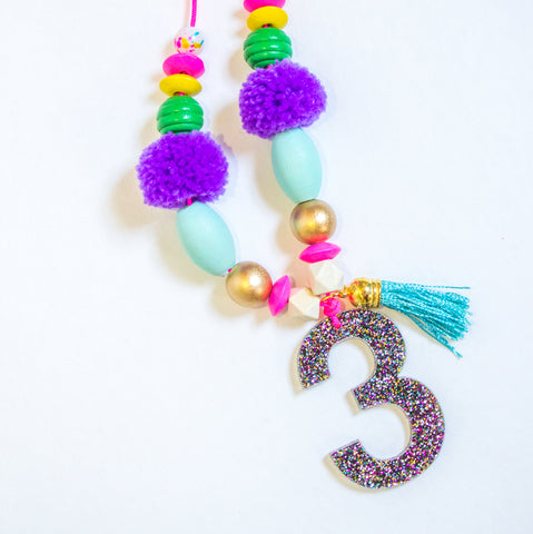 Multicolor Birthday Necklace