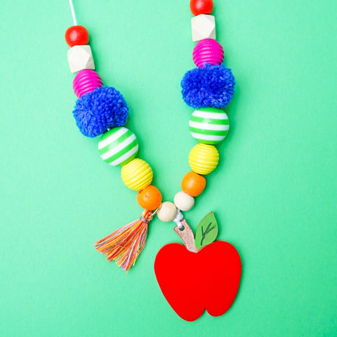 Apple a Day Necklace