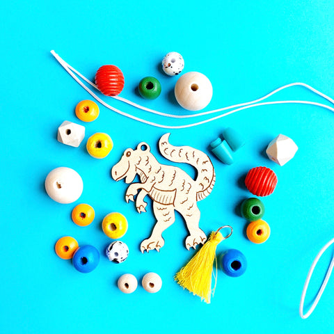 T-Rex Necklace Craft Kit