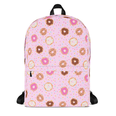 Donut Backpack - Pink