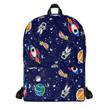 To the Moon Backpack - Primary Colors