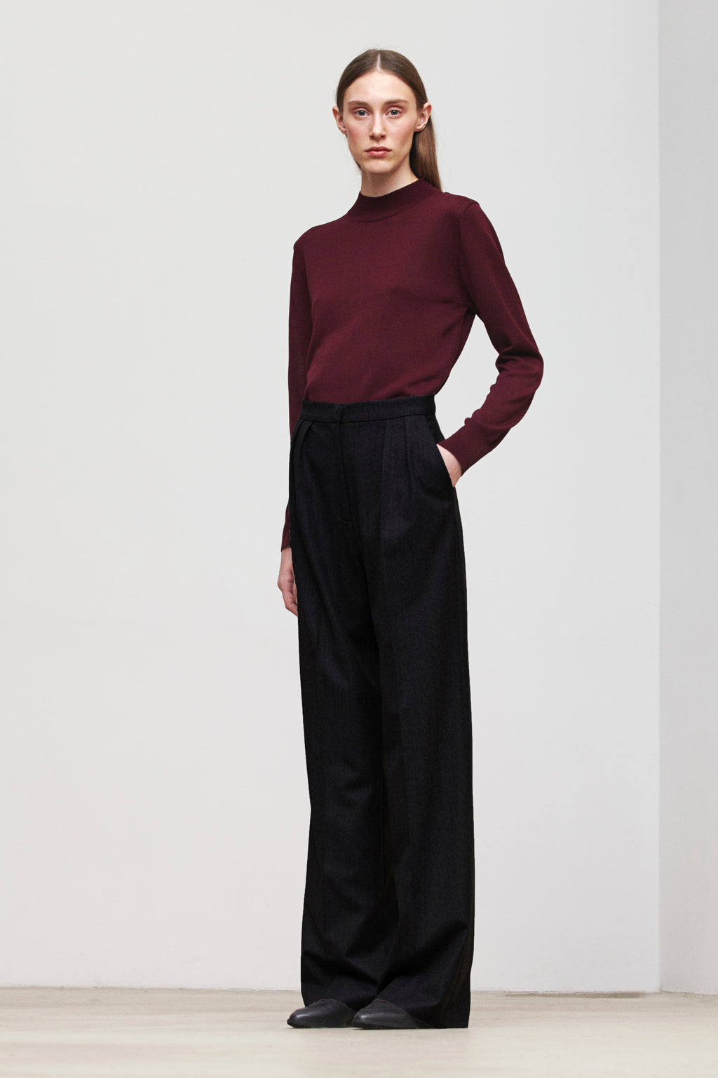 FABIENNE TROUSERS BLACK