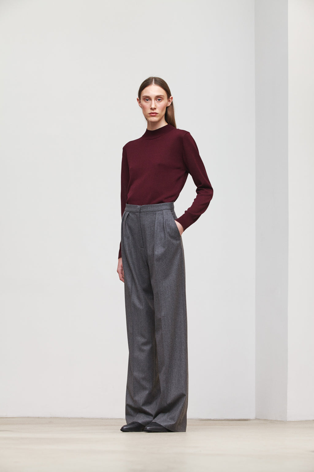 FABIENNE TROUSERS GREY