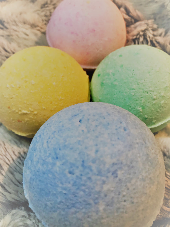Wild Roses Luxury Bath Bombs - Boo & Jerry