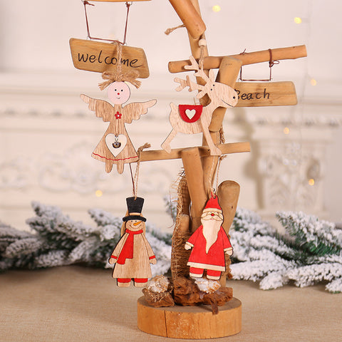Christmas-decorations-ornaments-tree-wooden