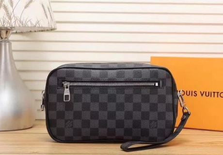 LV - Clutch Damier Gray