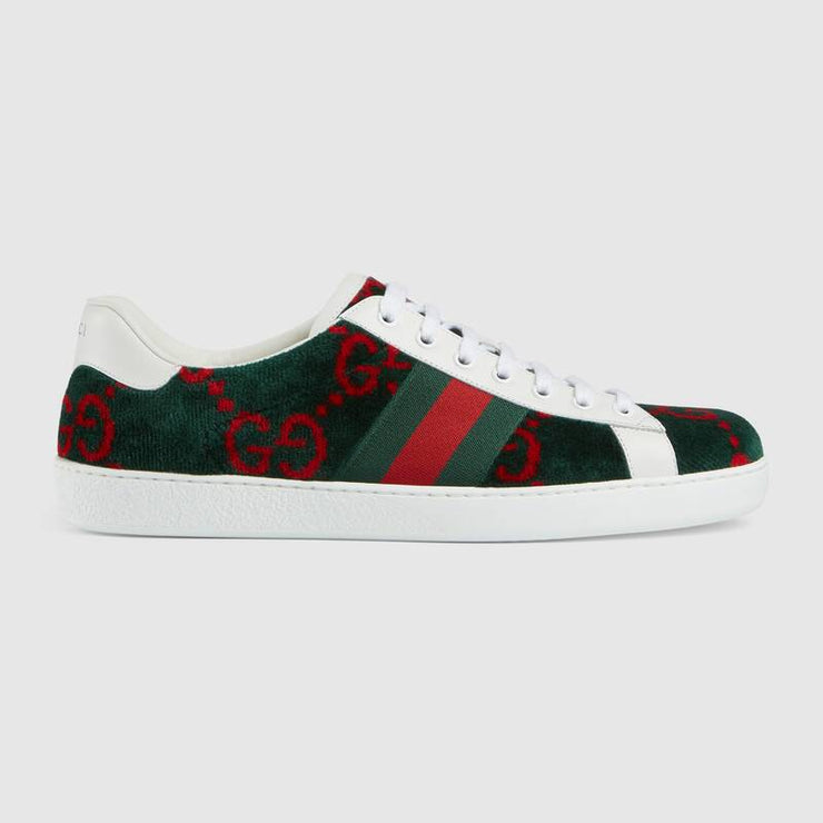 Ace GG terry cloth sneaker