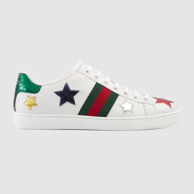 Ace embroidered sneaker Stars